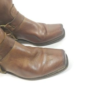 Frye Shoes - Frye Womens Harness Square toe Boots 10